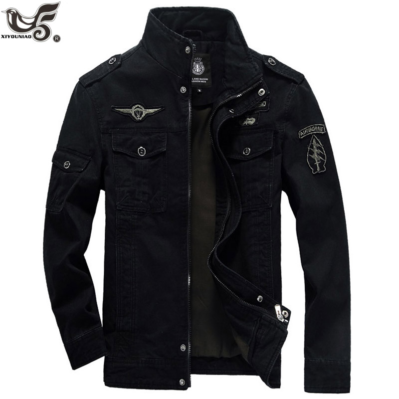 Plus Size 5XL 6XL Military Jacket Men Autumn Cotton Pilot Jacket Coat Army Men's Bomber Jackets Cargo Flight winter Jacket Male