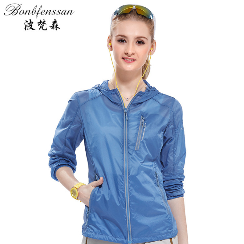 women Hooded UV Protection Quick Drying skin Windbreaker Breathable Ultra-thin Outdoor Hiking Running SUN protection jacket 2018 lovers skin sunscreen clothing men women quick fast dry hiking jackets windproof sun uv protection outdoor sport rain coats