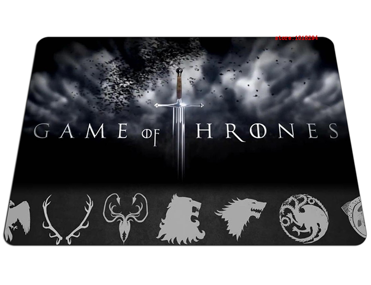 hot Game of Thrones mouse pad Professional mousepads gear gaming mouse pad gamer large personalized pad mouse keyboard pad