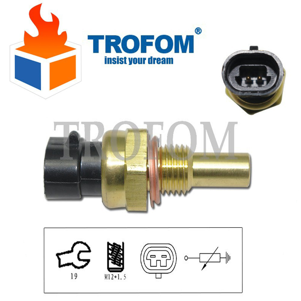 Water coolant temperature sensor for opel antara astra g corsa a frontera b gt kadett e signum speedster vectra b c zafira a b in hair clips pins from