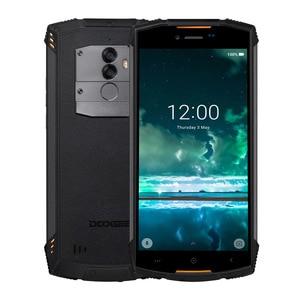 Image 2 - Doogee S55 アンドロイド 8.0 5.5 携帯電話 4 ギガバイトの ram 64 ギガバイト rom 5500 mah MTK6750T オクタコア防水指紋デュアル 13 + 8 mp ota