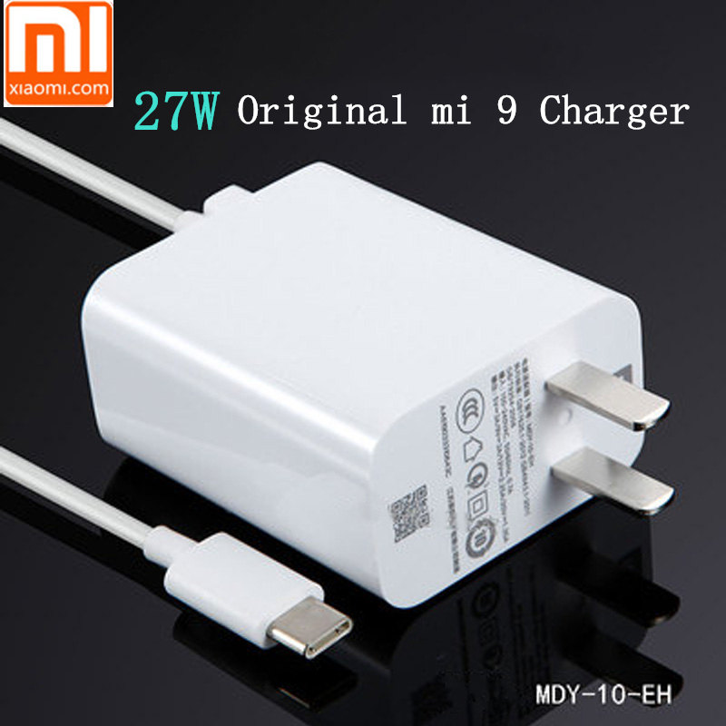 Mobile Phone Accessories Original Xiaomi Mi 9 Fast Charger Qc 4.0 27w Usb Wall Quick Charge Adapter Usb 3.1 Data Cable For Mi9 Se Mi 8 7 F1 Mix 2 2s 3
