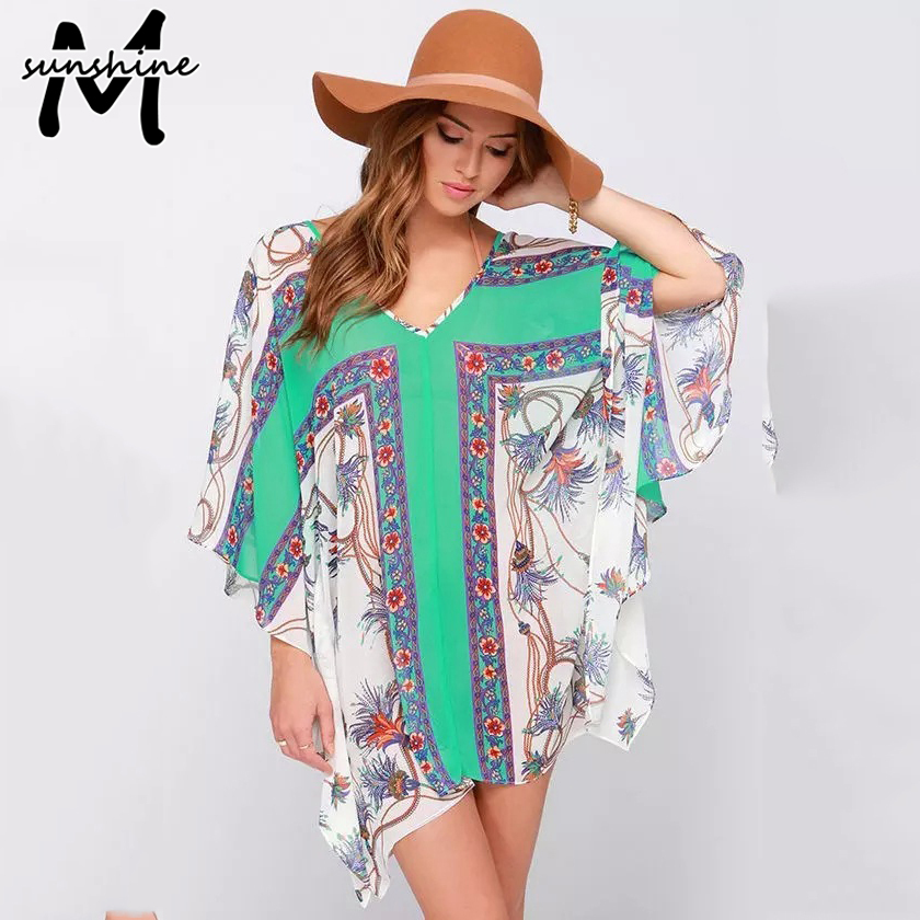 Summer Style Women Fashion Beach Dress Cover Up Ladies