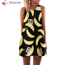 3c82e5ce9c288 Buy bananas dress and get free shipping on AliExpress.com