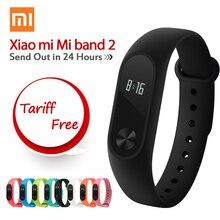 Miband xiaomi mi banda 2 mi ajuste oled 1 s del pulso Monitor de ritmo Xiomi Banda 2 Smartband Sueño Rastreador de Ejercicios para Android/iOS