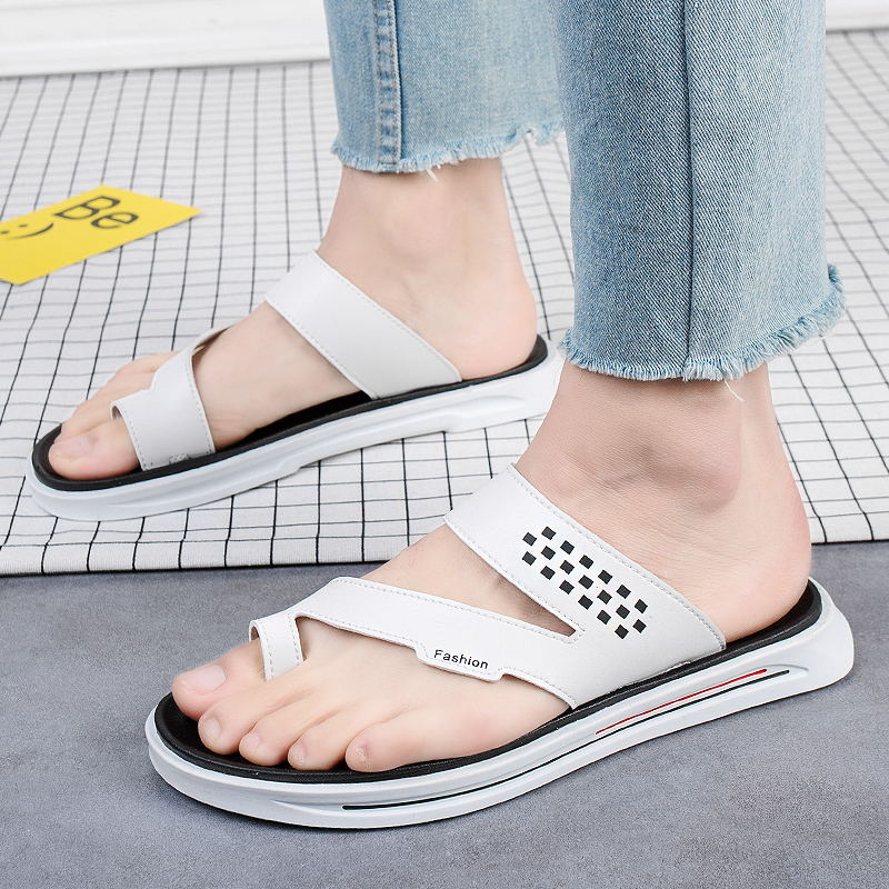 LAISUMK Brand New Fashion Summer Sandals Beach Breathable Men Sandals Leather Men 39 s Sandal Man Causal Shoes Big Size 38 46 in Men 39 s Sandals from Shoes