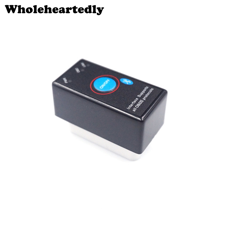 100% Firmware V1.5 MINI ELM327 Bluetooth Power Switch <font><b>ELM</b></font> <font><b>327</b></font> OBD2 <font><b>Diagnostic</b></font> <font><b>Scanner</b></font> Supports All OBDII Protocols image