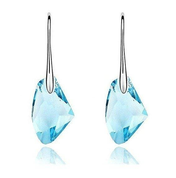 Free Shipping Gorgeous Fashion Jewelry White Gold Plated Earrings, Make With AU Cryatal Elements,Crystal Earrings R068