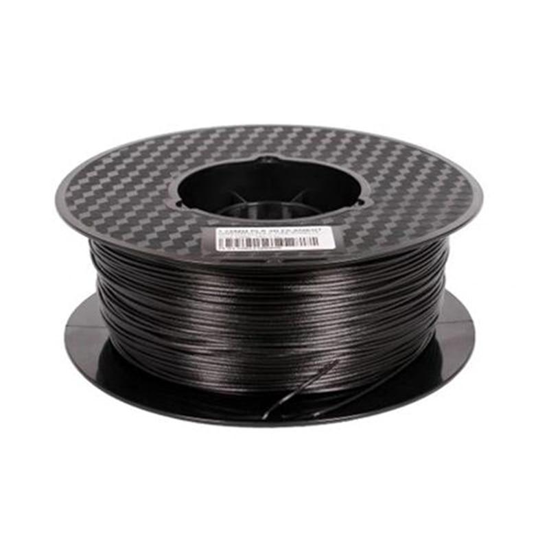 Carbon Fiber 3D Printing Supplies 1.75mm 3.0 Conductive 3D Printer Supplies - Black Premium Quality Carbon Fiber Filament nylon 3d printer filament 3d printer supplies
