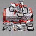 Новое дети DIY развивающие игрушки 1:12 стандартный металл CRF-450R сборки мотоцикла модель игрушки