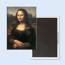 Free Shipping over $12,Mona Lisa Smile Fridge Magnet 5508 Tourism Souvenir