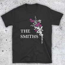 Inspired By The Smiths Flowers Morrissey Marr Iconic English Rock Band Unofficial Mens T-Shirt Summer Cotton Man Fashion T Shirt
