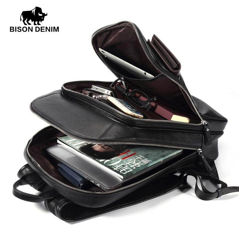 de couro escola mochila laptop Handle/strap Tipo : Soft Handle