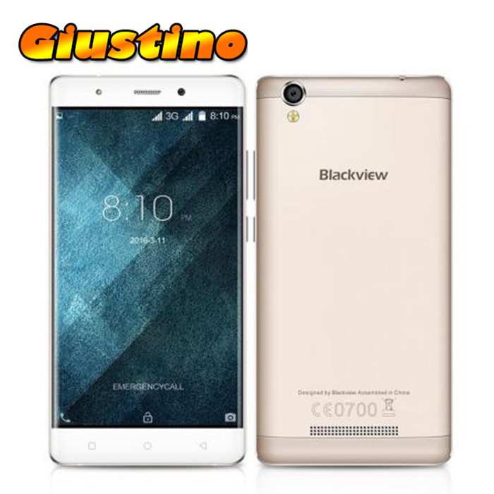 bilder für Original blackview a8 handy android 5.1 mtk6580 1,3 ghz quad core 5,0 Zoll IPS HD Bildschirm 1 GB RAM 8 GB ROM 8MP 3G Smartphone