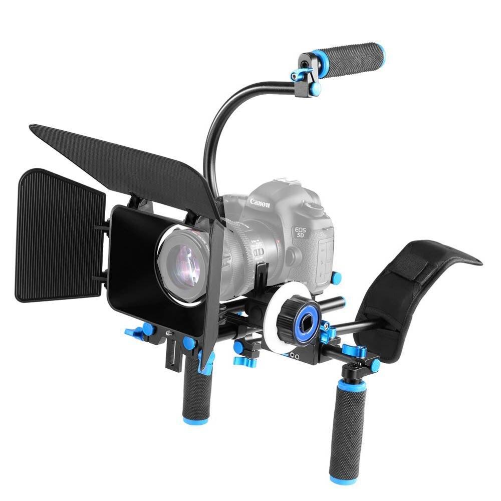 4in1 DSLR Rig Set Komplet për filmin e sistemit të - Kamera dhe foto - Foto 2