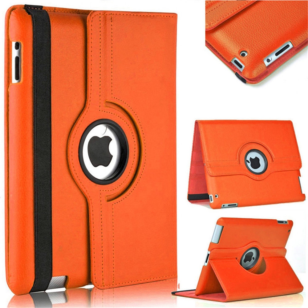 Tablet Cover for IPad 2/3/4 9.7 Leather Rotating Cover for IPad 4 3 2 Tablet Protective Case A1395/1396  A1416 /1430 A1458/1459Tablet Cover for IPad 2/3/4 9.7 Leather Rotating Cover for IPad 4 3 2 Tablet Protective Case A1395/1396  A1416 /1430 A1458/1459