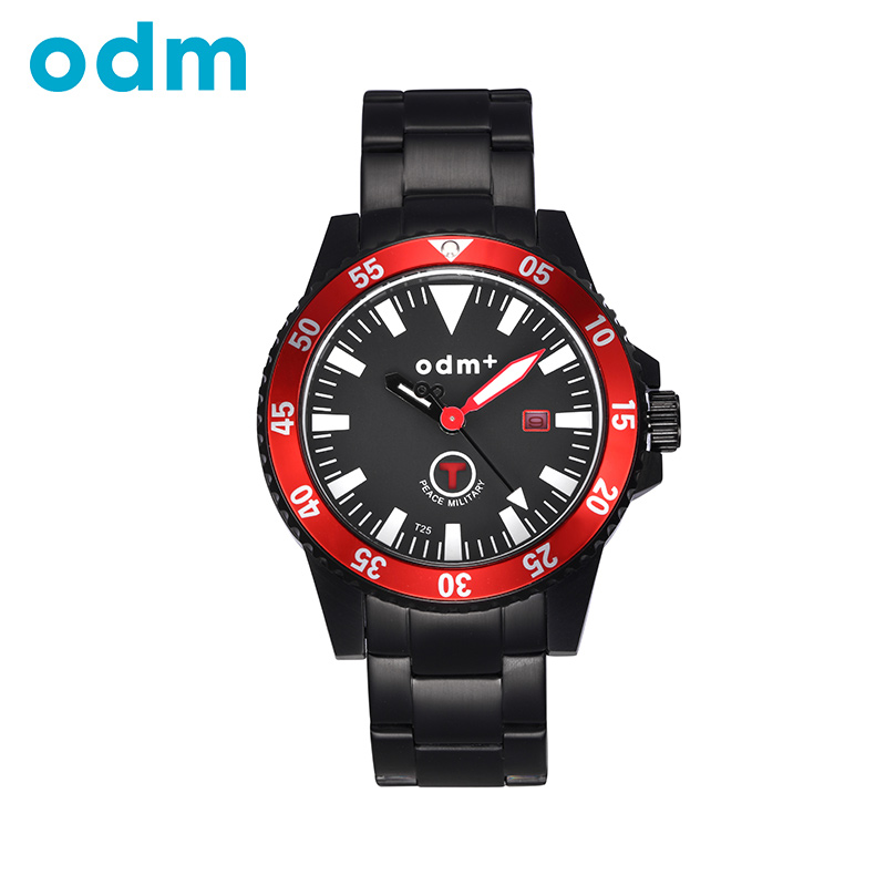 ODM Top Luxury Brand Casual Fashion Stainless Steel Strap Quartz Men Watch Waterproof Wristwatch DM006 cx20582 10z