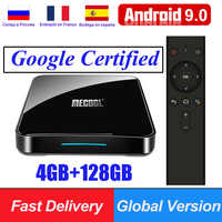 KM9 Pro KM3 ATV Google Certified Android 9.0 Smart TV Box S905X2 USB3.0 4K HDR 2.4G/5G Wifi Voice Control Streaming Media Player