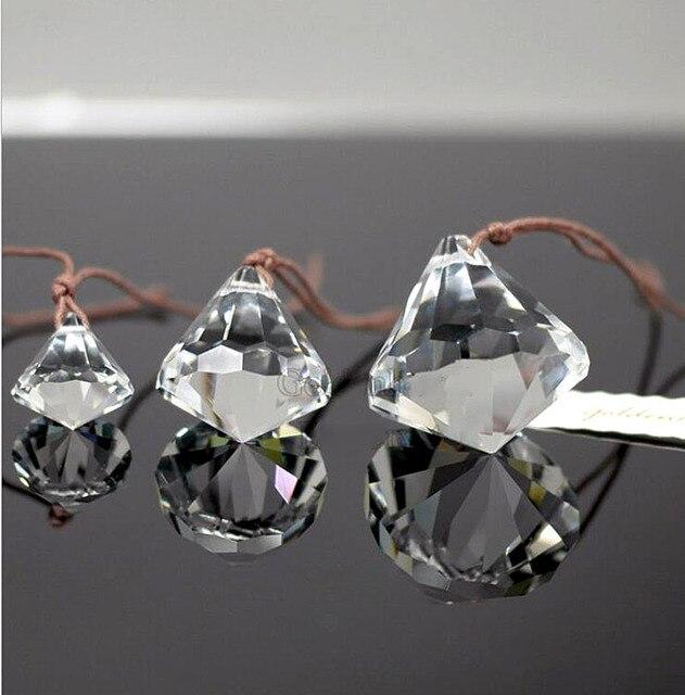 Кристалл стекло висит звезда форма мяч кварцевые сферические орнаменты дома Свадебная вечеринка украшения Люстра шторы подвески
