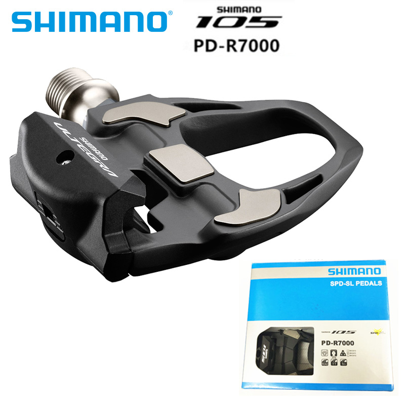 new SHIMANO 105 PD R7000 CARBON Road Bicycle Self Locking SPD Pedals Bike Pedal with SH11