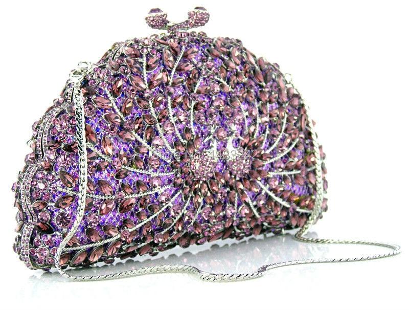 ФОТО Z1127-7 2015 Mini Women Evening Bags Designer women Clutch bag Chain Rhinestone Wedding Bridal bag ladies women wallet