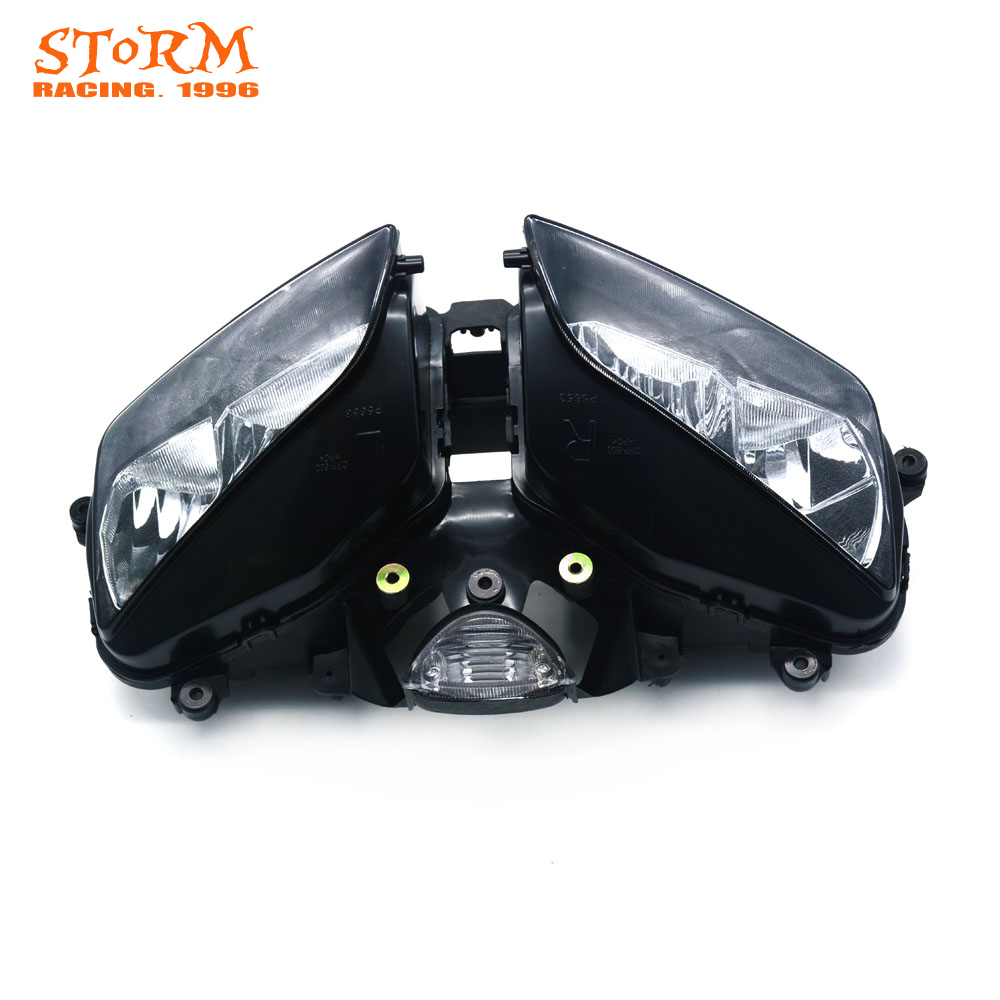 Motorcycle Head Light Headlamp For Honda CBR600RR CBR 600RR CBR600 RR 2003-2006 2003 2004 2005 2006 Street Bike for honda cbr600rr cbr 600rr 2003 2004 2005 2006 motorcycle folding extendable brake clutch levers logo cbr600rr
