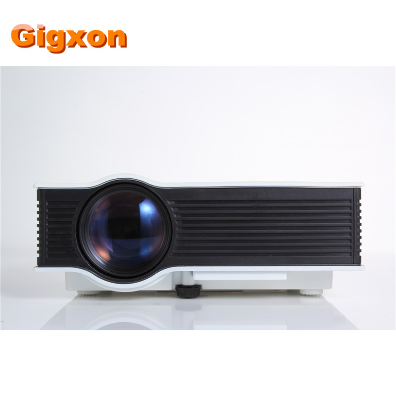 Gigxon g40 newest vga uc40 mini pico portable 3d for Mini portable video projector