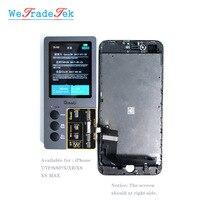 Qianli ツール iCopy iPhone 振動敏感オリジナル色プログラマ iphone 7 8 8P XR XSMax チップ修理