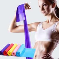 Yoga Fasce Per Indoor Outdoor Attrezzature Per Il Fitness Pilates Sport di Gomma di Resistenza di Formazione Allenamento Fasce Elastiche