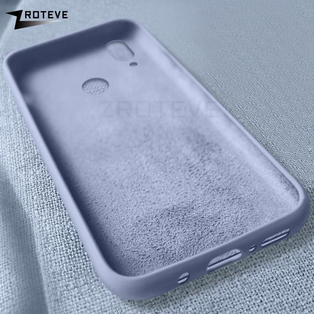 ZROTEVE Cover Huawei Nova 3 3i 3e Case Slim TPU Soft Coque Huawei Nova 4 4e Silicone Liquid Back Cover Nova 3 3e 3i 4 e P20 Lite