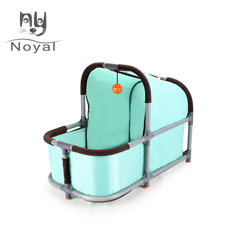 Portable Pet Bed Oxford Fabric Crib Kennel Comfortable For Small Dog Cat Small Kitten Animals Home Durable Product