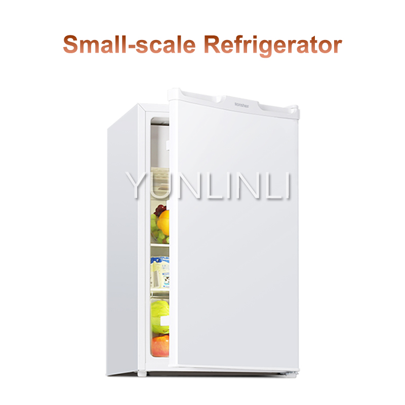 Small-scale Refrigerator   88L Refrigerating Chamber+13L Micro Freezing Chamber Power Saving Mini Fridge For Dormitory BC-101KT1