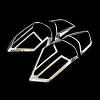 닛산 x-트레일 t32 2014 ~ 2016 리어 라이트 커버 테일 램프 트림 xtrail x 트레일 abs 크롬 장식 자동차 스타일링 액세서리