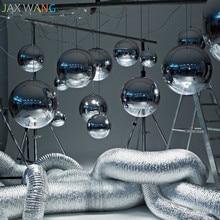 Nordic Led Pendant Light Creative Personality Modern Glass Ball Pendant Lamp Bar Bedroom Bedside Living Room Hanging Lamp