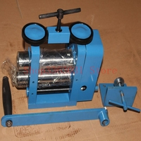 hand manual rolling mill for jewelry gold silver rolling