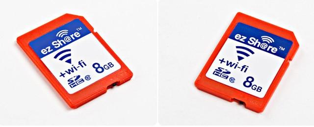 2 ШТ. Высокоскоростной эз-share wireless WLAN SD CARD 8 ГБ CLASS 10 Wi-Fi SD карты памяти