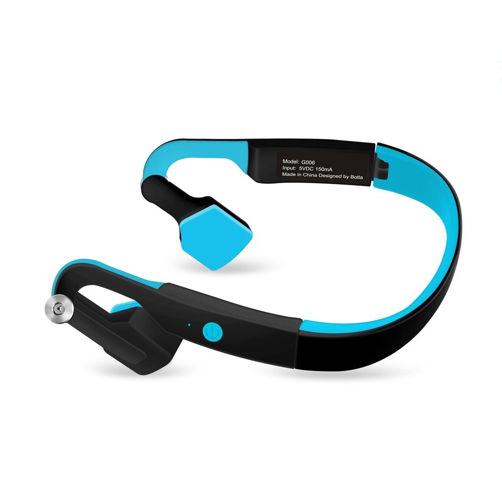 G006 Drahtlose Bluetooth Kopfhörer Knochen Leitung Headsets IP55 Wasserdichte drahtlose kopfhörer bluetooth Kopfhörer Noise Reduction-in Handy-Ohrhörer und Kopfhörer Bluetooth aus Verbraucherelektronik bei  Gruppe 1