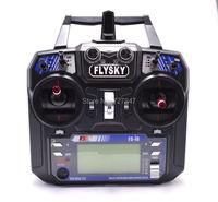 최신 Flysky FS-i6 FS I6 2.4 그램 6ch RC 송신기 컨트롤러 w/FS-iA6 수신기 RC 헬기 비행기 쿼드 콥터