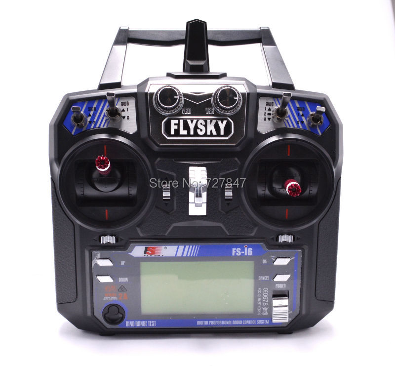 Newest Flysky FS-i6 FS I6 2.4G 6ch RC Transmitter Controller w/ FS-iA6 Receiver For RC Helicopter Plane Quadcopter Glider скатерти duni скатерть 125х180 бум d cel ваниль 1шт
