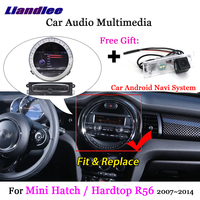 Liandlee For BMW Mini Hatch / Hardtop R56 2007~2014 Android Radio Stereo Carplay Camera TV BT GPS Map Navi Navigation Multimedia