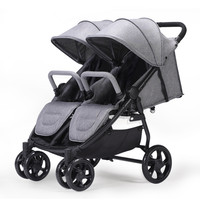Portable Folding Baby Stroller For Twins Double Stroller Baby Carriages For Newborns