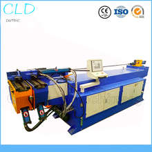 DW75NC 3 inch  semi auto Car Exhaust Induction Conduit Hydraulic SS Stainless Steel Pipe Bending Machine