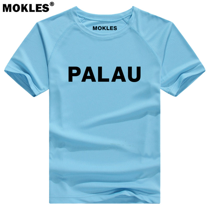 PALAU t shirt diy free custom made name number plw red t-shirt nation flag pw republic belau country college print photo clothes