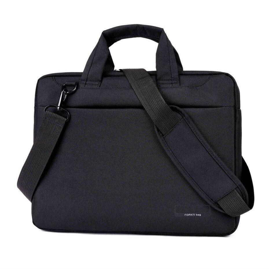 Sac d'ordinateur portable 17.3 17 15.6 15 14 13 12 pouce Nylon airbag hommes ordinateur sacs de mode sacs à main Femmes épaule Messenger portable sac