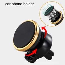 Universal Car Phone Holder 360 Degree GPS Magnetic Mobile cell Phone Holder For iPhone Samsung Magnet Mount Holder Stand