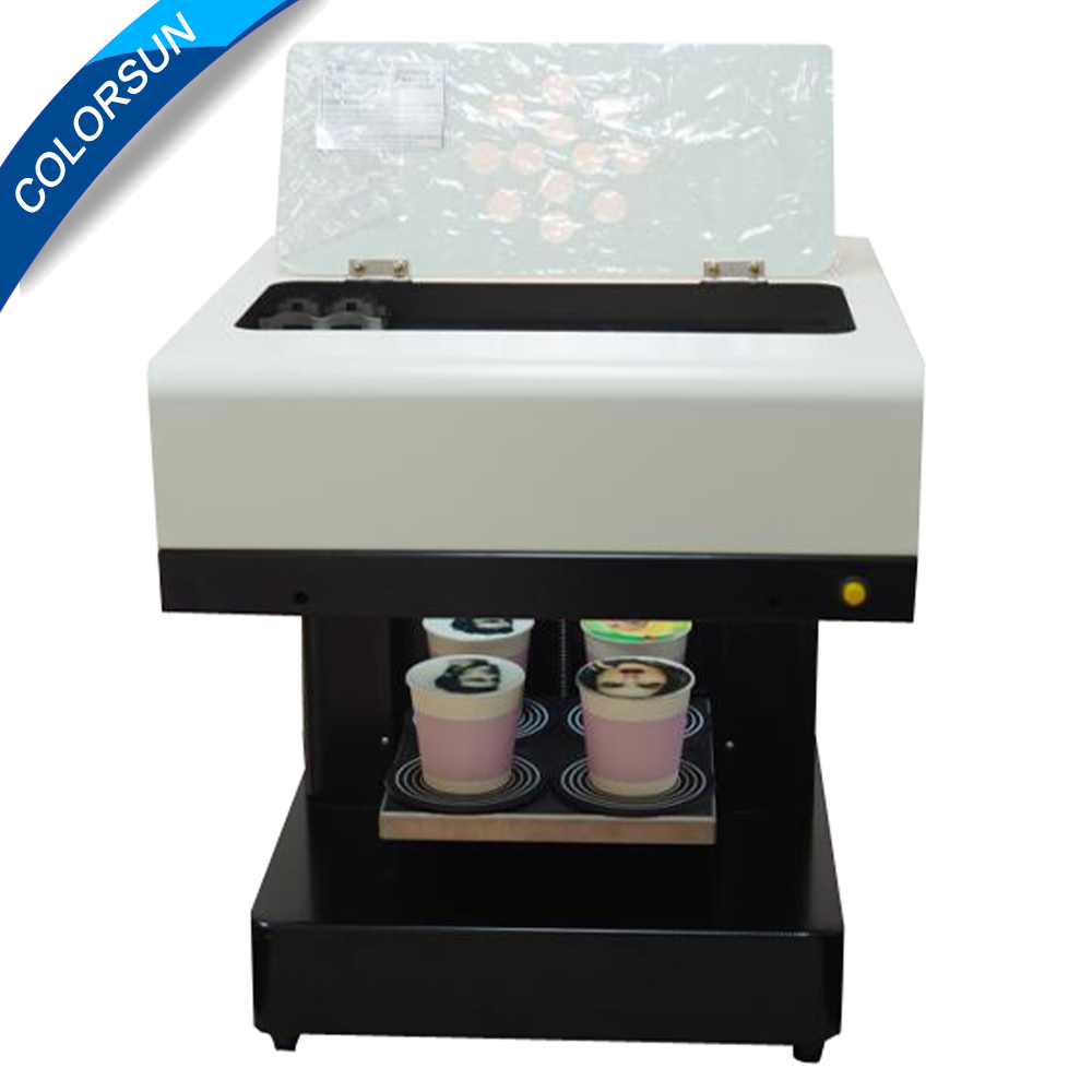 4 cups printing Latte Art Coffee Printer Automatic for Food ,tea ,coffee ,cappuccino ,cookies ,biscuits,pizza printer coffee printer food printer inkjet printer selfie coffee printer full automatic latte coffee printe wifi function