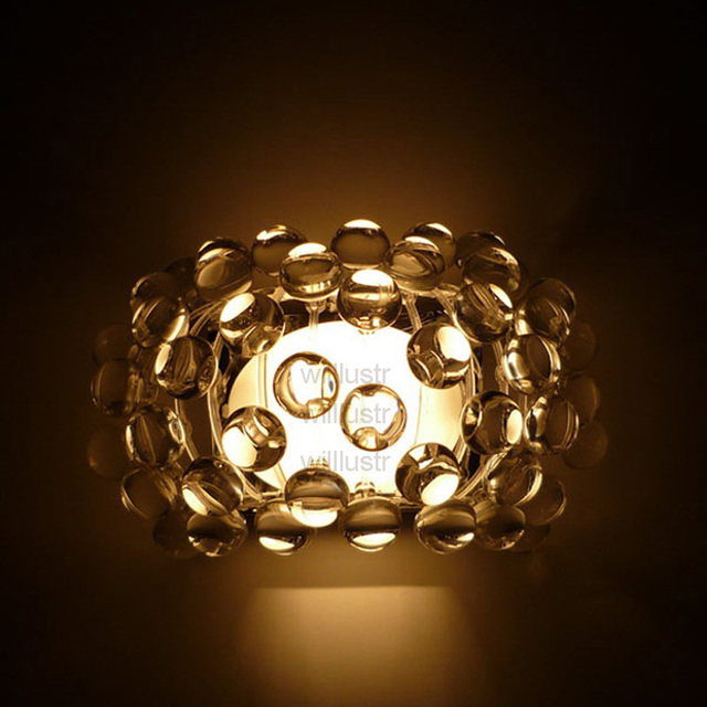 Replica foscarini caboche wall lamp willlustr modern design light replica foscarini caboche wall lamp willlustr modern design light wall sconce acrylic ball lighting led r7s aloadofball Images