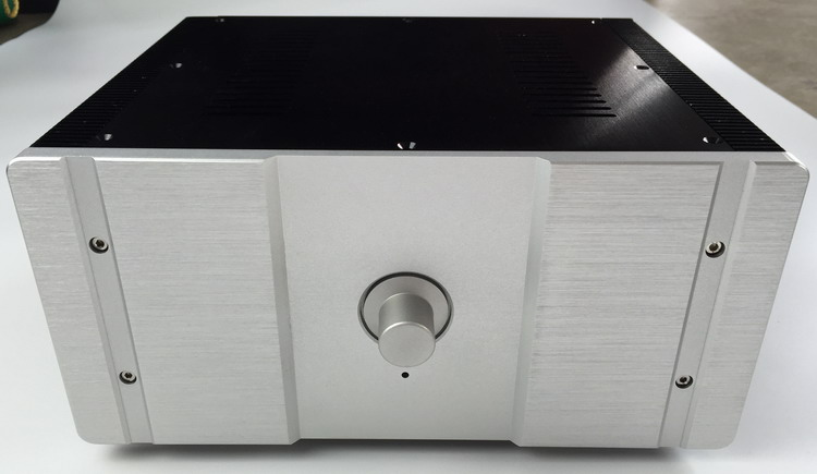 DIY case 315*150*260mm WA27 Full aluminum amplifier chassis / Tube amp / Class A amplifier / AMP Enclosure / case / DIY box 2015 full aluminum chassis amplifier case for lm3886 power amp diy box