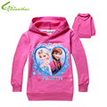 Girls Children Hoodies Cartoon Princess Long Sleeve Outwear Child Kids Coats Fashion Spring Autumn Clothing Free Drop Shipping
