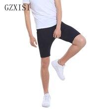 Новые поступления шорты из неопрена супер стрейч брюки Формирователи тела мужские черные трусики для коррекции фигуры брюки